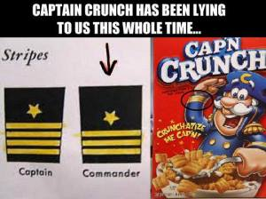 captain crunch is a liar
