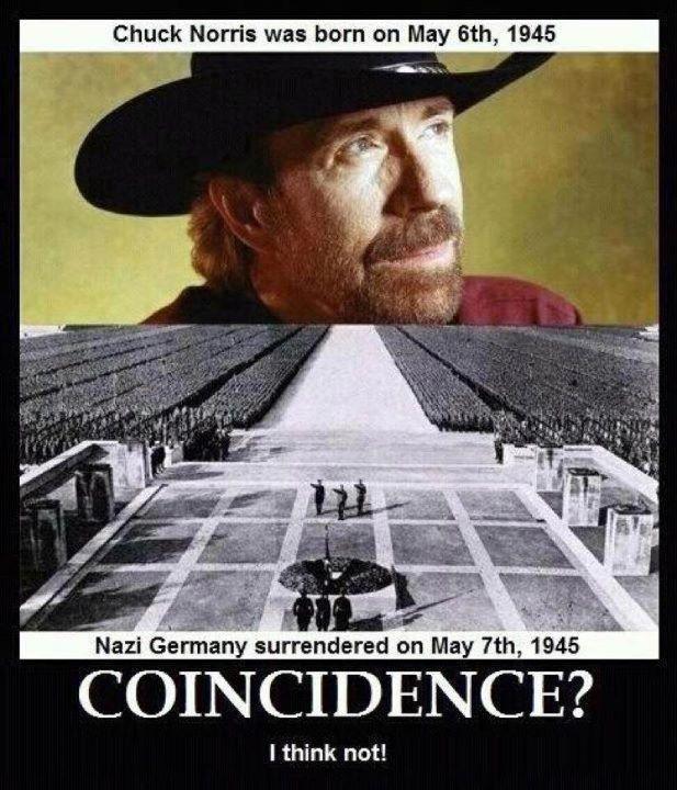 Chuck Norris Nazi Surrender