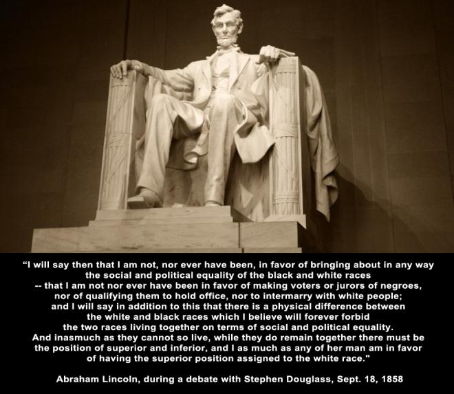 Lincoln white copy