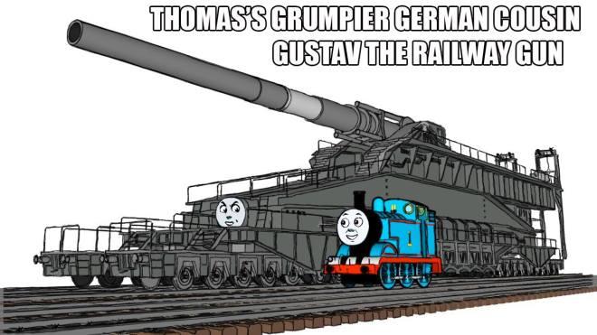 Gustav the railway gun